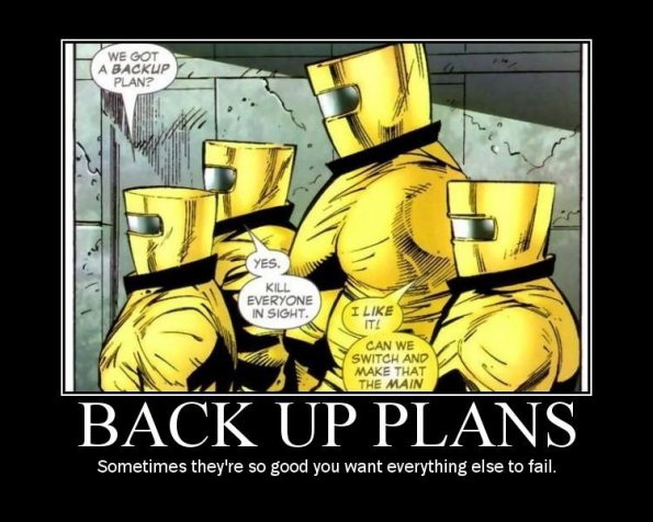 Backup Plans
